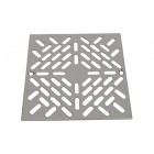 """GRID STAINLESS 316L FOR SINK DRAIN 2"""" ASTRAL REF. 00258 175Χ175mm"""