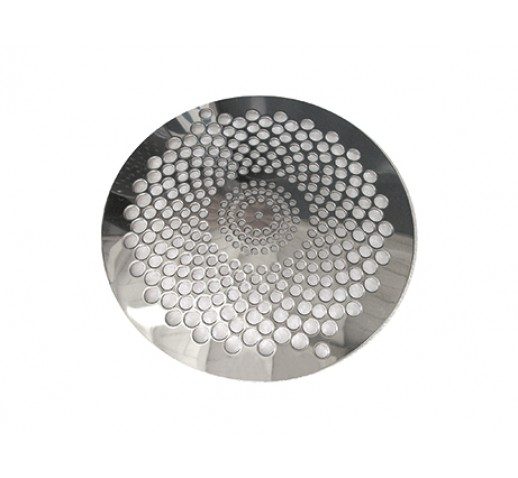 """GRID STAINLESS 316L FOR SINK DRAIN 2"""" ASTRAL REF. 01467 D175mm"""