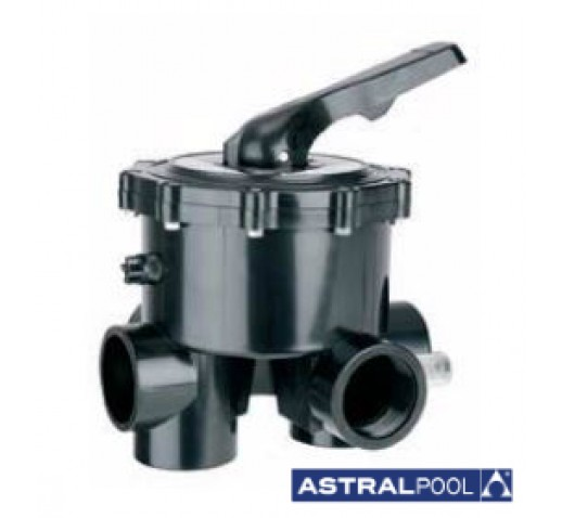 """Manual multiport side valve 1.5"""" ASTRAL """"without"""""""