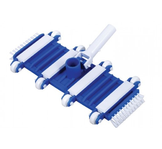 FLEXIBLE POOL CLEANER with clip AQUALINE