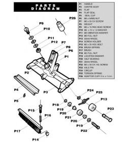 Parts list Fairlocks