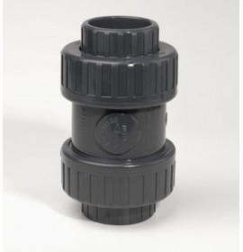 Check Valve Double Union BSP Threaded Socket EPDM Seal