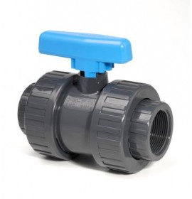 Ball Valve Double Union Threaded Socket EPDM Seals