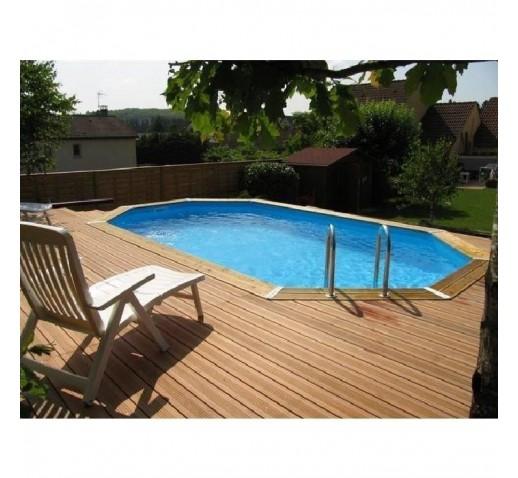 wooden pool OCEA 400x610x130 UBBINK