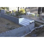Liner Pool Wall Construction