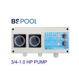 Single phase (II) pump control + lighting for 3/4-1.0HP BSV