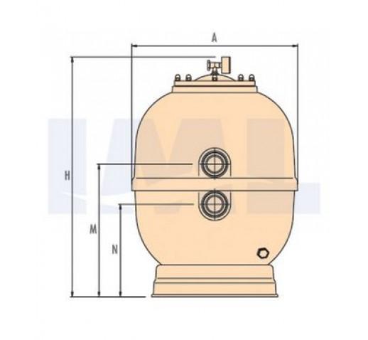 Φιλτρο πισινας IML Lisboa απο 8-35 m3/h