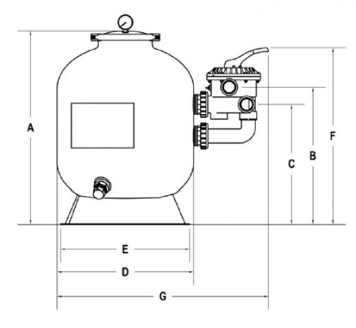φιλτρο πισινας SPLASH 8-14m3/h