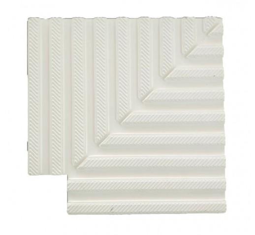 Polyester corner tiles 90°