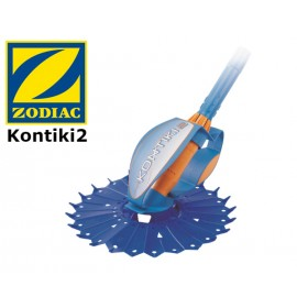 The hydraulic disc-type cleaner for above-ground pools Kontiki2 ZODIAC