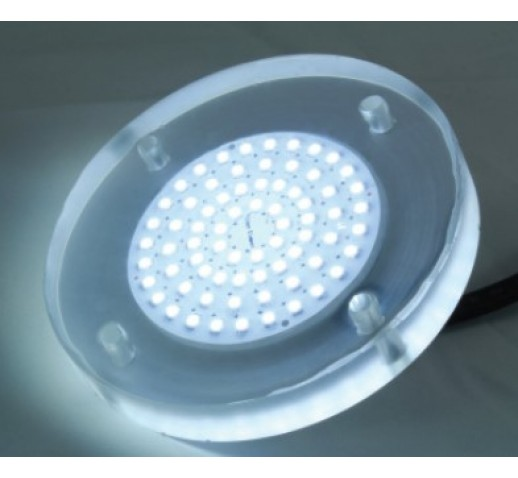 UNDERWATER POOL LIGHT FLAT LED 8W-12V DC 800Lm
