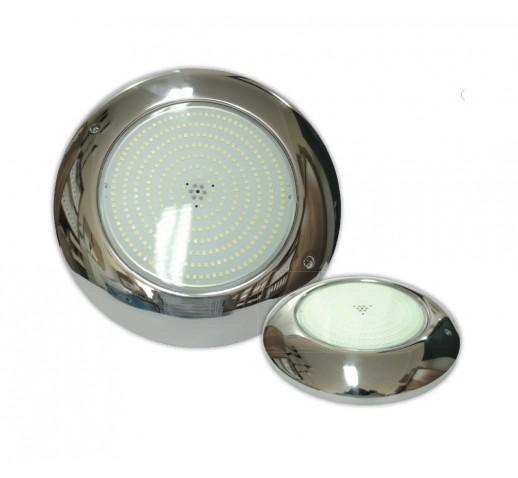 UNDERWATER POOL LIGHT INOX FLAT LED 24W D260mm