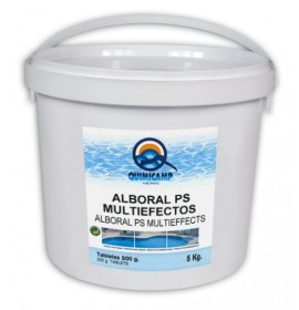 Chlorine Slow Dissolution 90%  multi tablet 200gr